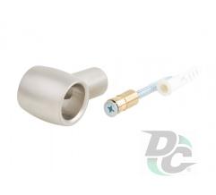 Railing holder Retro matte nickel (satin) DC OptimaLine