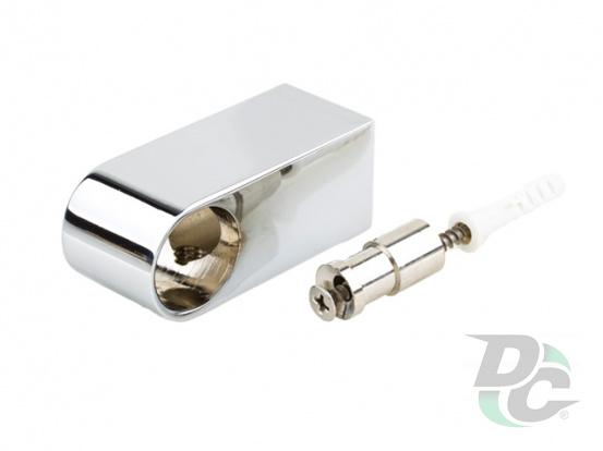 Railing holder Modern chrome DC StandardLine