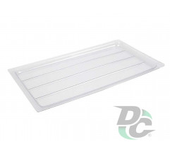 Dryer tray L-400 Transparent