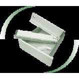 Tandem boxes Slim DC PremiumLine (White) for 16mm chipboard