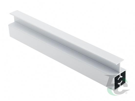 Modena connecting profile L-5,5 m Gloss White DC ProfiLine