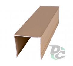 Upper single rail L-5,5m Gold DC OptimaLine