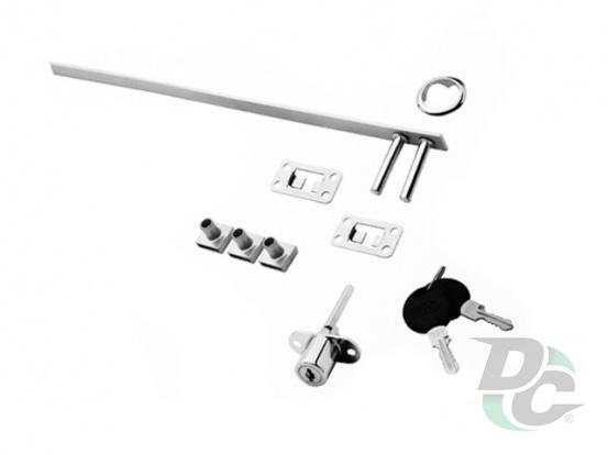 Сentral lock KL-288 Chrome L-500 DC