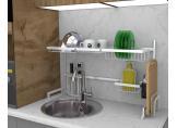 Multifunctional dryer above the sink Steel