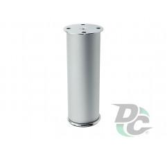 Adjustable furniture leg DA 11/150 AL/G2 Aluminum / Chrome DC EuroLine