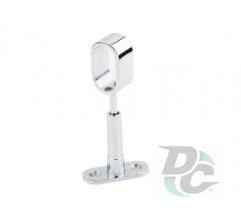 Railing holder Retro matt nickel (satin) DC OptimaLine
