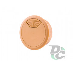 Cable outlet with spring beech DC StandardLine