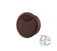 Cable outlet with spring brown DC StandardLine