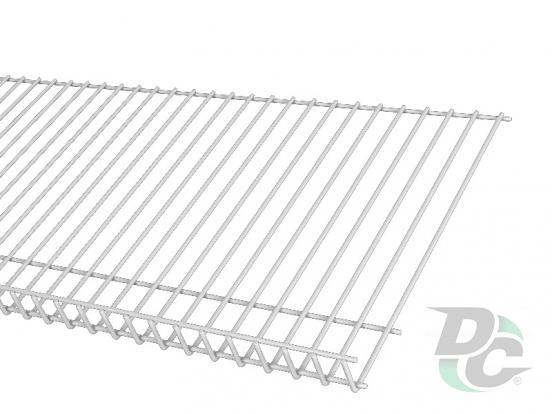 Shoe rack shelf L-1000mm white  DC