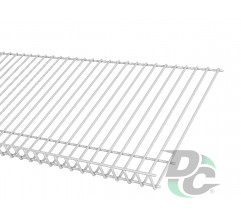 Shoe rack shelf L-600mm White DC