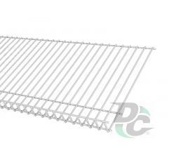 Shoe rack shelf L-900mm White DC