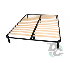 Double bed frame 2000x1400 + legs