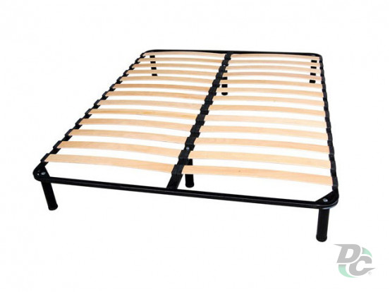 Double bed frame 2000x1800 + legs