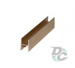 Connecting profile L-5,5m Gold DC OptimaLine