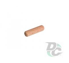 Wooden dowel pin 30x8mm Eucalyptus