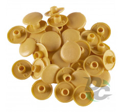 Confirmat screw cap Yellow, Terra Yellow