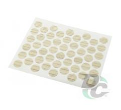 Confirmat screw self-adhesive cap Champagne Elm 9883