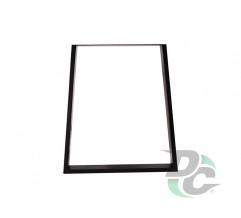 Trapezoid table leg  H-710 Black DC