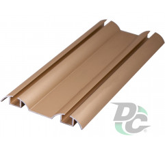 Down rail L-5.5m Gold DC OptimaLine
