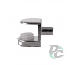 Glass holder (small) Chrome with screw