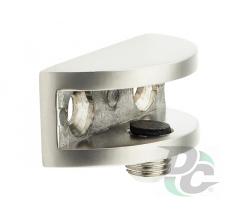 Shelf support for glass shelves DC DM 02 G5 nickel matte (satin) (OL)