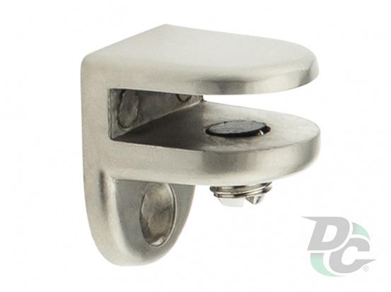 Shelf support for glass shelves DC DM 40 G5 nickel matte (satin) (OL)