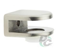 Shelf support for glass shelves DC DM 50 G5 nickel matte (satin) (OL)