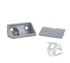 Double mounting corner Light Grey DC