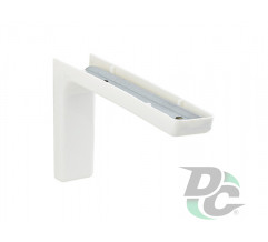 Mounting corner with overlay L-120mm White  DC