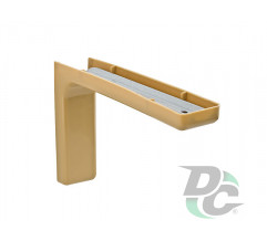 Mounting corner with overlay L-120mm Beech DC