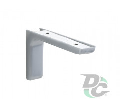 Mounting corner with overlay L-120mm Grey DC