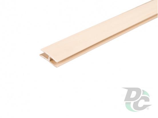 HDF board connecting profile Beech