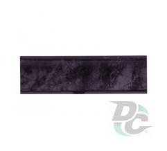 Countertop plinth Black Marble 145 DC