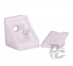 Single mounting corner White  DC