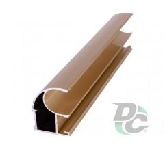 Vertical open profile L-4,7m Gold DC OptimaLine