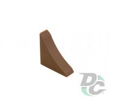 Countertop plinth end  cap DC Dark Walnut 53