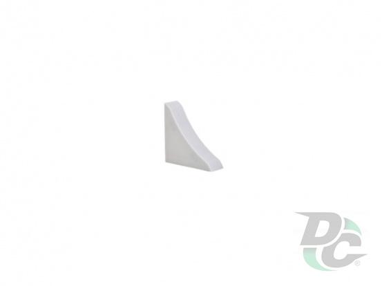 Countertop plinth end  cap DC Liht Gray 56
