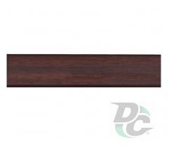 Countertop plinth Dark Walnut 26 DC