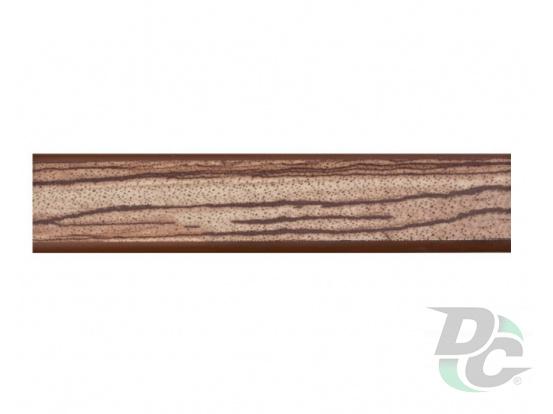 Countertop plinth Zebrano 71 DC