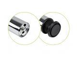 Table leg H-710 mm d-60 mm Chrome DC OptimaLine