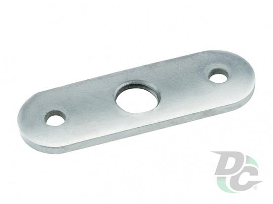 Screw leg oval plate M10