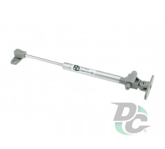 Gas spring for chipboard 80N with damper, grey DC PremiumLine