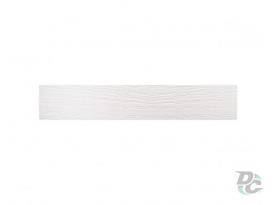 DC PVC edge banding 21/0,6 mm Structure White K101PR