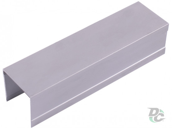 Upper single rail  L-5,5m Silver DC OptimaLine