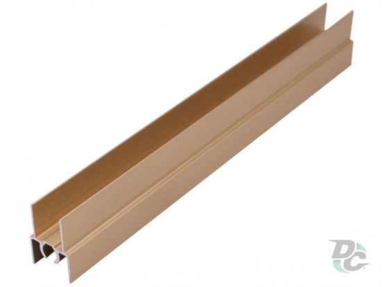 Upper horizontal profile L-5,5m Gold DC StandardLine