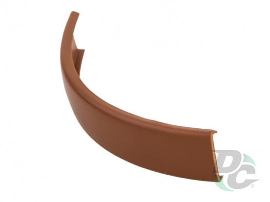 Flexible C-type profile for 16 mm board Cognac Pear (unicolour) 0155 DC