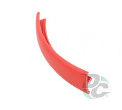 Flexible T- type profile for 16 mm board Red (unicolour) 127 DC