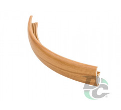 Flexible T- type profile for 16 mm board Structural Alder 19501 DC