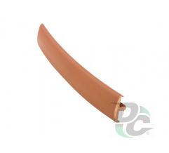 Flexible T- type profile for 16 mm board Hazel Nut (unicolour) 0145 DC