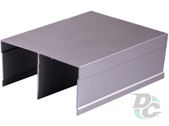 Bavaria/Modena fastened top slide L-5,5m Smoky Gray DC ProfiLine